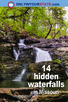 Whether hiking through a park in a city or out in the wild, it's always a treat to stumble upon a beautiful waterfall. Here are some examples from Missouri Vacation Destinations, Vacation Spots, Vacation Ideas, Vacations, Missouri Hiking, Lake Ozark Missouri, Places To Travel, Places To Go, Wisconsin