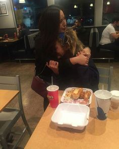 """Woman's Act Of Kindness Leads To Emotional Hug   OpposingViews ~ """"A stranger's act of kindness and a homeless woman's show of gratitude has gone viral. At a Raising Cane's restaurant in California, Carmen Mendez and her boyfriend, Fred, were enjoying their meals when she saw a homeless woman. The woman asked various customers if she could eat the leftovers that they were planning to throw away. 'Not one person said yes, they all ignored her and threw it away, it broke my heart,' Mendez..."""""""
