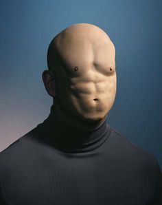 mental muscle, 2003 by Hugh Kretschmer