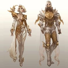High daeva leather armor from aion armor & clothing design i Fantasy Character Design, Character Creation, Character Design Inspiration, Character Concept, Character Art, Fantasy Armor, Anime Fantasy, Fantasy Girl, High Fantasy
