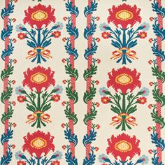 Villandry Linen Print - Multi On Cream BR-70094-0