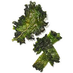 Krispy Kale Chips 1 bunch kale (washed & dried) 2 T olive oil 2T lemon juice 1/4 tsp sea salt Oven-350 degrees F.  Chop kale into 1/2 pieces.  Place in large bowl.  With hands, massage oil, lemon juice, & sea salt into kale.  Place on a parchment-lined baking sheet.  Bake for 10-15 min. until dark green & crispy.  Cool & serve.