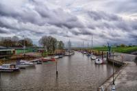 kleiner Yachthafen Brunsbüttel