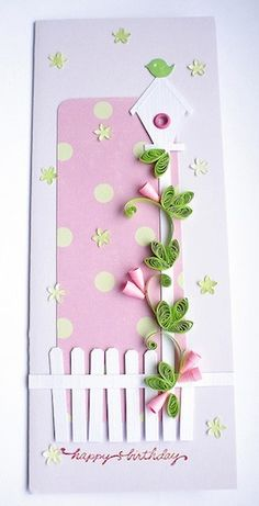 pretty quilling by Aga