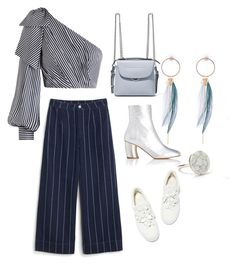 """""""Casual shic"""" by kuzminann ❤ liked on Polyvore featuring Zimmermann, Monki, Proenza Schouler, Fendi, John Lewis, casual, naturestyle, sportystyle and balakovo"""