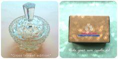 Make Your Own Candle Kit *Vintage Edition* Glass Trinket Gift Set
