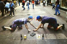 artisti di strada 3d