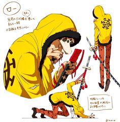 One Piece Comic, One Piece Fanart, One Piece Pictures, One Piece Images, Manga Anime One Piece, Anime Manga, Zoro, Trafalgar D Water Law, One Piece Zeichnung