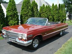 1963 SS Impala Convertible - Super Sweet Ride  Mine was stolen in 1985.