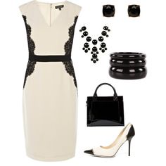 """""""Corporate Fashion - Wednesday"""" by peoniesanddaisies on Polyvore"""