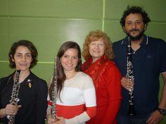 Miércoles 1/10/14. Concierto del Ensamble Ventus: Mariana Jordán (flauta) Graciela Guiñazú (oboe) Silvio Oropel (clarinerte) e Ynés Batura (piano). Interpretarán obras de Milhaud, Saint Säenz, Amberg y Piazzolla.