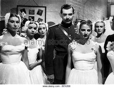 CLARK GABLE NEVER LET ME GO (1953) - Stock Image