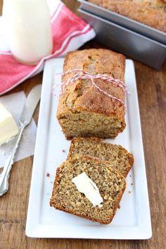 Whole Wheat Roasted Banana Bread