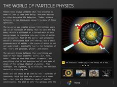 The Particles app