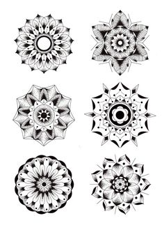Geometric Flowers by Blake Gordon, via Behance ☼ ☾ Follow me on instagram: 2turnttori