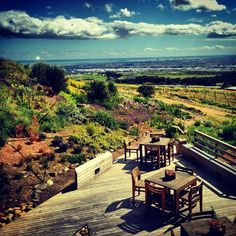 View from Durbanville Hills Winery