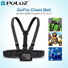 >> Click to Buy << For Go Pro Accessories Adjustable Mount Belt Chest Strap for GoPro HERO5 HERO4 Session HERO 5 4 3+ SJ4000 & for Xiaomi Yi  #Affiliate