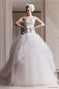 wedding dresses from Zuhair Murad 2012 bridal collection