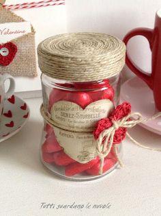 Valentines Day Decorations, Valentine Crafts, Valentine Day Cards, Gift Shop Interiors, Gift Wrapping Bows, Valentine's Day Gift Baskets, Valentines Gifts For Boyfriend, Mason Jar Gifts, Diy Crafts For Gifts