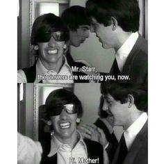 Ringo! Haha