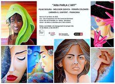 """Exposición de algunas de mis pinturas. SALA """"EIX DEL RAVAL"""" - Barcelona Del 11 al 28 de Febrero 2015"""