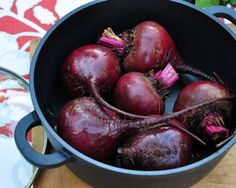 A Veggie Venture: My Favorite Way to Roast Beets: An Illustrated Cooking Lesson from the Beet Queen