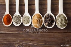 http://www.dollarphotoclub.com/stock-photo/Spice assortment on a wooden table/57825652 Dollar Photo Club millions of stock images for $1 each