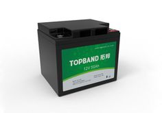 12V50Ah  TOPBAND LiFePO4 lithium battery