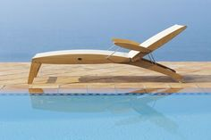 how relaxing. French-designed and hand-crafted lounger by Les Jardins