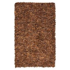 Safavieh LSG511A Leather Shag Rug