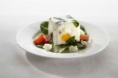 Spinach and Goat's Cheese | Egg recipes,Starters,microwave | Lékué Recipes