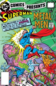 "DC Comics Presents (1978-1986) #4 Superman and the Metal Men team up to battle Chemo in ""Sun-Stroke!"""