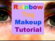 ▶ Rainbow Tag Makeup Tutorial - @YouTube