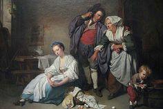 Broken Eggs, by Jean Baptiste Greuze