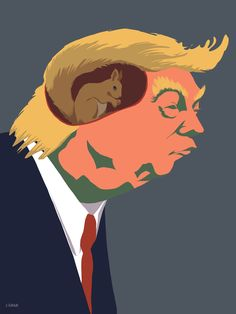 Donald Trump - ArtworkIdeas, Nature and Art More Pins Like This At FOSTERGINGER @ Pinterest