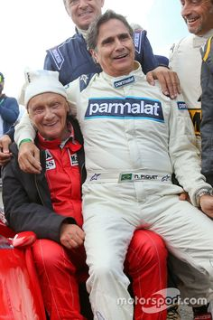"""Lauda:""""Yes I've decided to take up Ventriloquism! Here's my dummy!"""""""