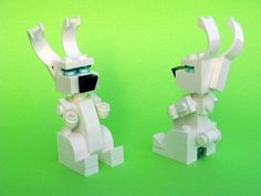 Bunny LEGO Store Monthly Mini Model Build - April 2009 Front & Rear View