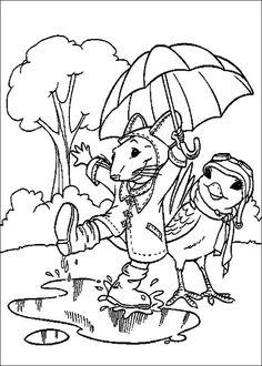 Stuart Little 5. Coloring Pages