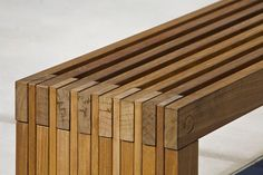 Hudson Bench with FSC® 100% Ipé hardwood slats