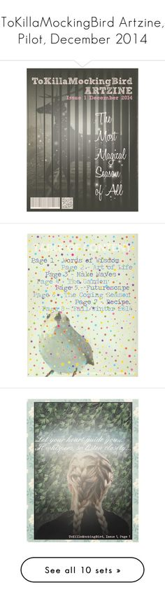 """ToKillaMockingBird Artzine, Pilot, December 2014"" by tokillamockingbird-artzine ❤ liked on Polyvore featuring tokillamockingbirdartzine, december2014, art, cover, sineadoconnor, quotes, artzine, zine, surf and shidatja"