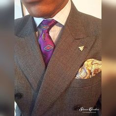 #styleinspiration from the latest #blog post on tie and pocket square combination using the purple Alfred tie which is available for purchase- http://ift.tt/1MiX3Gn  #shaungordonties #shaungordontiemaker #shaungordon #handmade #ties #sartorial #style #mensstyle #instastyle  #whatiwore #OOTD #menswear #fashion #dapper #dapperstyle #simplydapper #dandy  #neckties #shirt #suit #menwithstyle #fashionformen #mensfashion  #mensweardaily #thedevilisinthedetails