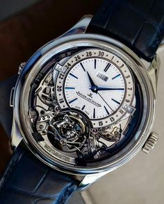 - The Master Grande Tradition Gyrotourbillon Westminster Pérpetual. Dream Watches, Cool Watches, Rolex Watches, Unique Watches, Fine Watches, Wrist Watches, Skeleton Pocket Watch, Skeleton Watches, Trendy Mens Fashion
