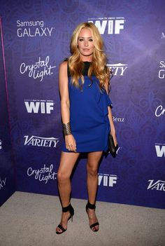 "Pin for Later: The Cool Girls RSVP'd ""Yes"" For Last Night's Parties Cat Deeley Cat Deeley at the Variety and Women in Film pre-Emmys celebration."