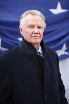 "John Voight, American Patriot .  I love him. We met at the CAMIE Awards.  My favorite performance of his: ""Holes"" -  Hilarious, masterful. CLICK TO VIEW interview."