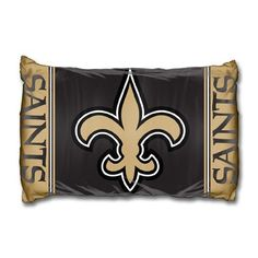 """New Orleans Saints NFL Pillow Case 20"""" X 30"""" by Northwest. $10.45. Pillow Case 20in x 30in. Save 67%!"""