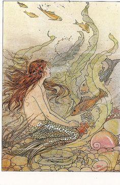 Mermaid by Elenore Abbott
