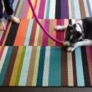 FLOR carpet tiles that can be made into rug Parallel Reality 5 Patchwork - Multi (8' x 10') - Shop by Stripes