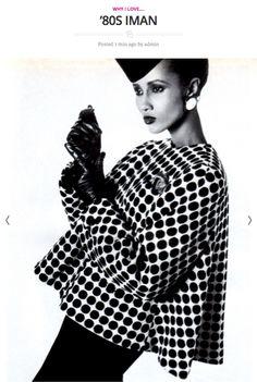Photo of model Iman Abdulmajid - ID 178513 Fashion Mag, Fashion Models, Fashion Beauty, High Fashion, Most Beautiful Models, Beautiful Outfits, Beautiful Clothes, Iman Model, Iman And David Bowie