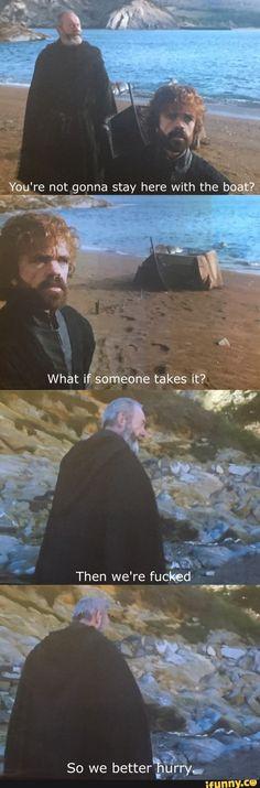 Ser Davos :-) Game of Thrones 7.5