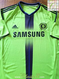 Relive Chelsea s 2010 2011 season with this original Adidas 3rd kit  football shirt. Chelsea ee68b948c